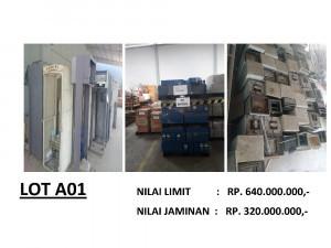 LELANG NON EKSEKUSI SUKARELA - Ex. Alat Telekomunikasi & Office Equipment (LOT A01)