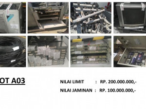 LELANG NON EKSEKUSI SUKARELA - Ex. Alat Telekomunikasi & Office Equipment (LOT A03) Semarang