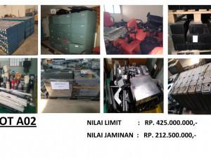 LELANG NON EKSEKUSI SUKARELA - Ex. Alat Telekomunikasi & Office Equipment (LOT A02) Palembang