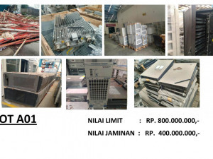 LELANG NON EKSEKUSI SUKARELA - Ex. Alat Telekomunikasi & Office Equipment (LOT A01))