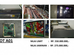LELANG NON EKSEKUSI SUKARELA - Ex. Alat Telekomunikasi & Office Equipment (LOT B01) Semarang