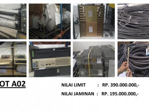 LELANG NON EKSEKUSI SUKARELA - Ex. Alat Telekomunikasi & Office Equipment (LOT A02) Semarang