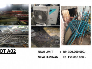 LELANG NON EKSEKUSI SUKARELA - Ex. Alat Telekomunikasi & Office Equipment (LOT A02))